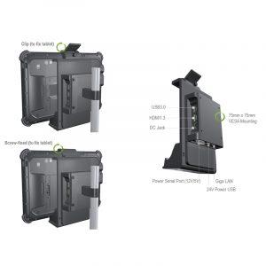 ITMC MediaPOS Mobile Kasse Montage